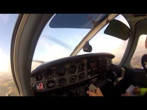 EASA PPL Series: Episode 6 - VOR Tracking & IMC Training at Panshanger (EGLG)