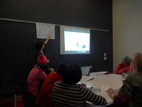 Chinese class at library