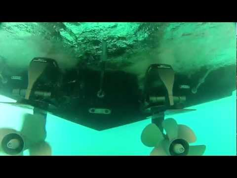 Yanmar marine joystick underwater view