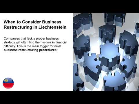 Business Restructuring in Liechtenstein