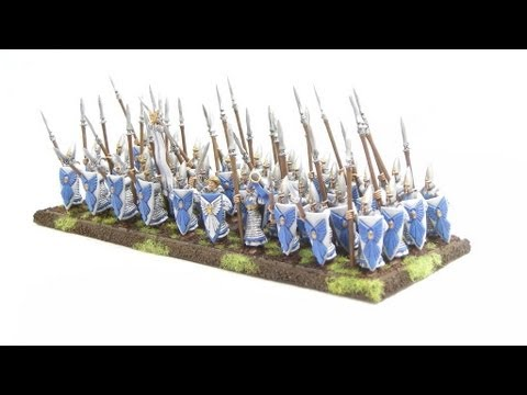 Uniforms and heraldry of the high elves