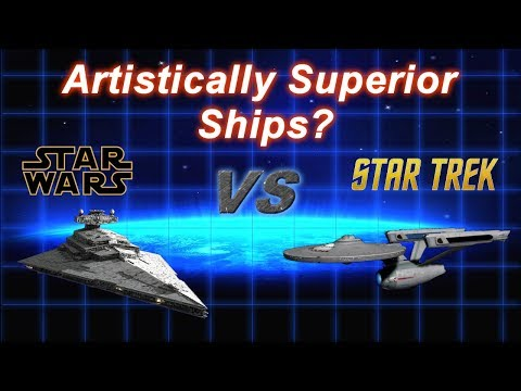 Star Wars or Star Trek -  Superior Ship Design Style and Artistry?