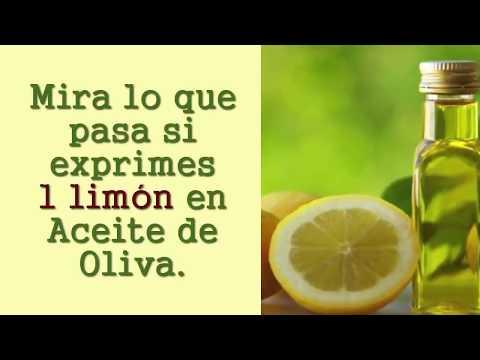 Exprime 1 limón en aceite de oliva y en 5 minutos ve lo que sucede !