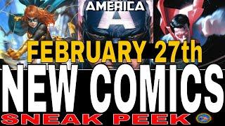 NEW COMIC BOOKS RELEASING FEBRUARY 27th 2019 BATMAN COMICS MARVEL COMICS DC COMICS NCBD WEEKLY PICKS