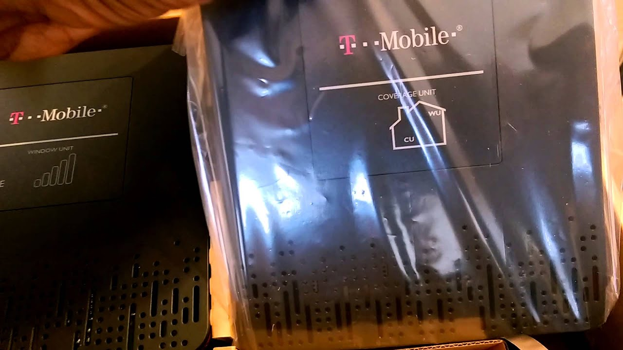Unboxing: T-Mobile 4G LTE Cellspot/Signal Booster
