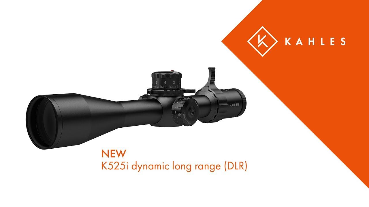 KAHLES K525i dynamic long range (DLR) - YouTube