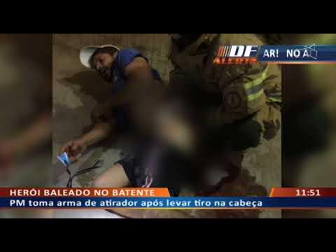 DFA - Herói baleado no batente