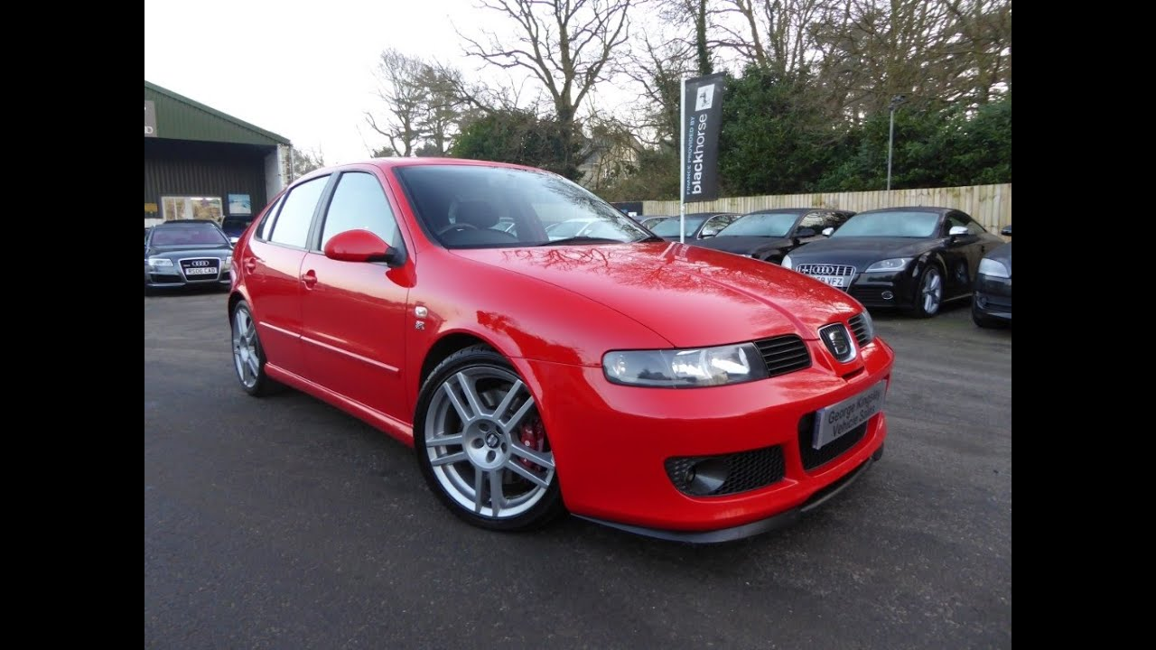 2004 seat cupra r for sale at george kingsley vehicle sales colchester essex co5 7jh 01206. Black Bedroom Furniture Sets. Home Design Ideas