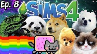 ADOPTING ANIMAL MEMES!! | The Sims 4: Memes Theme | Ep. 8