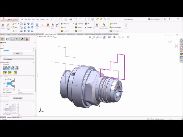 SolidCAM 2016 - Machine Setup on Multi Channel mill-turn machines