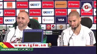 CAN 2019 : Djamel Belmadi parle de son groupe avant la finale