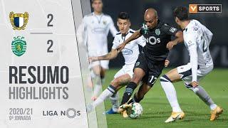 Highlights   Resumo: Famalicão 2-2 Sporting (Liga 20/21 #9)