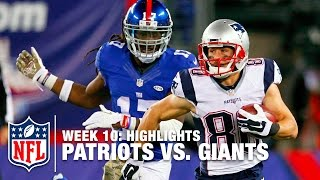 Patriots vs. Giants | Week 10 Highlights | NFL