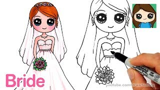How to Draw a Bride Easy