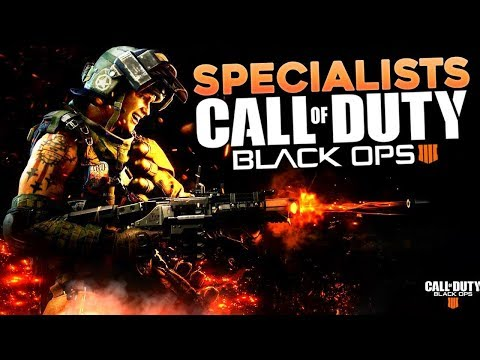 Specialists & Abilities in Call of Duty: Black Ops 4 (Black Ops 4 Tac-Knife Gameplay)