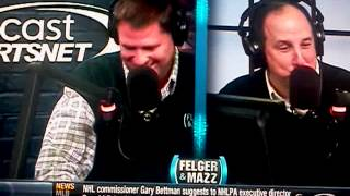 Angry Felger And Mazz Caller Doesn't Sleep With His Boss