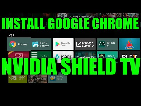 How To Install The Chrome Web Browser Apk To Your Nvidia