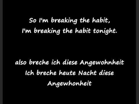 Linkin Park-Breaking the habit german+lyrics