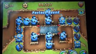 Field Runners 2 Gameplay iPhone 4S