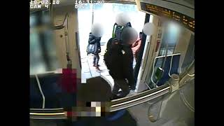 CCTV video - 512 St Clair streetcar from Feb 18, 2018 (2 of 2)