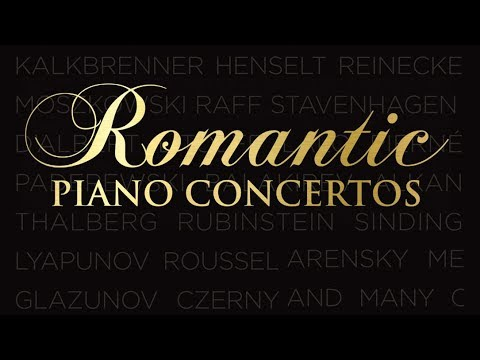 Romantic Piano Concertos | Classical Piano Music of the Romantic Age