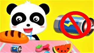 Baby Panda Safety Tips - Children Learn Safety Knowledge - Fun Educational Games