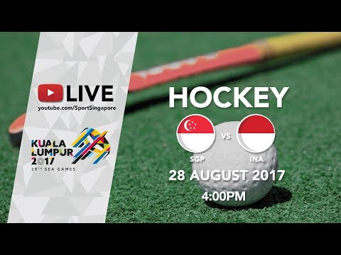 Hockey Women's Bronze medal match Singapore 🇸🇬 vs 🇮🇩 Indonesia | 29th SEA Games 2017