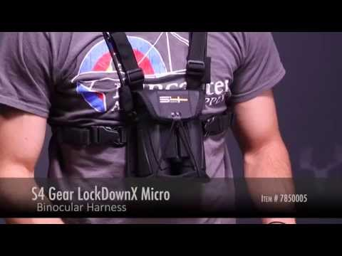 S4 Gear LockDownX Micro Binocular Harness Review At LancasterArchery.com