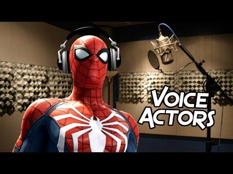 SpiderMan Games Voice Actor Comparison 20002018