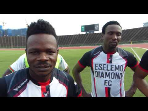African's all star's Match agains't Cambodia All Star's