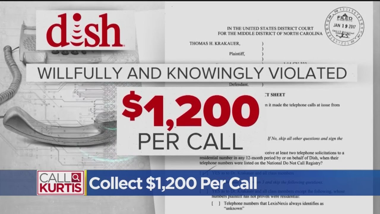 Dish Facing Telemarketing Class Action Lawsuit - YouTube