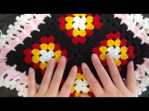 How to crochet the original Victorian Granny Square Patchwork Square UK & US terms