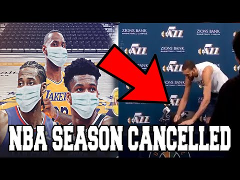 The REAL REASON Why ALL NBA GAMES ARE NOW CANCELLED! (FT. Rudy Gobert)