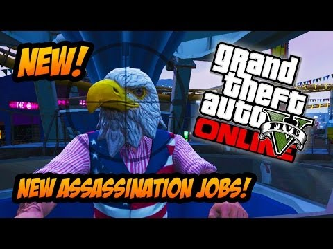 "GTA 5 Online - NEW ""Assassination"" Missions! ""Independence Day Special"" Secret Update! (GTA 5 DLC)"