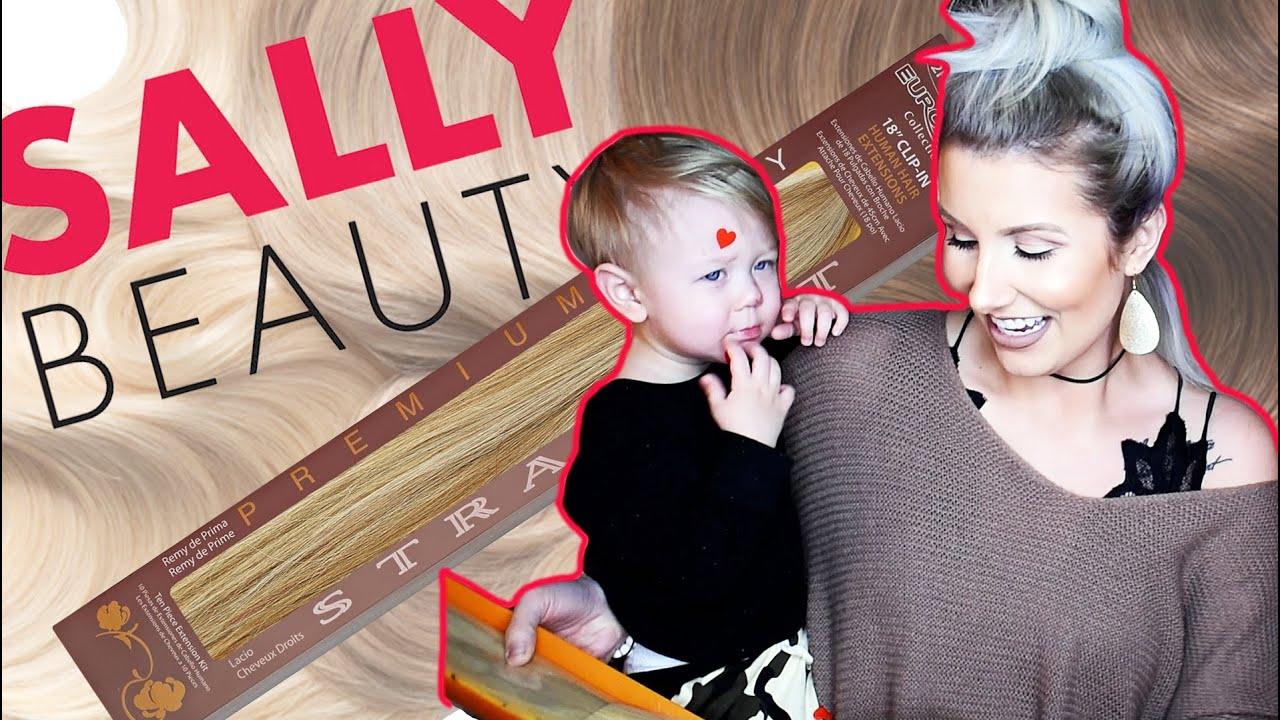 Human Hair Extensions Amazon Vs Sallys Professional Opinion Youtube