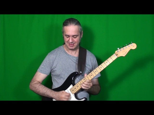 NASHVILLE SHUFFLE BOOGIE guitar solo (Mark O'Connor) played by MARCELLO ZAPPATORE