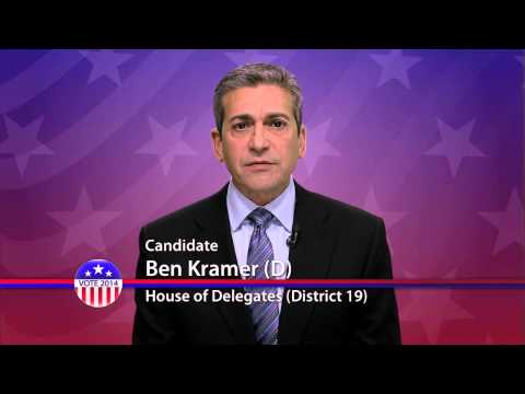 Ben Kramer (D), Candidate for Maryland House of Delegates  District 19