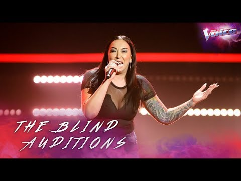 Blind Audition: Ashley McTackett sings Redneck Woman | The Voice Australia 2018