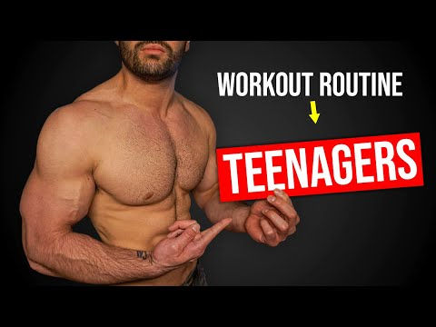 TEENAGER Workout Routine To Build Muscle! (FAST RESULTS!!)