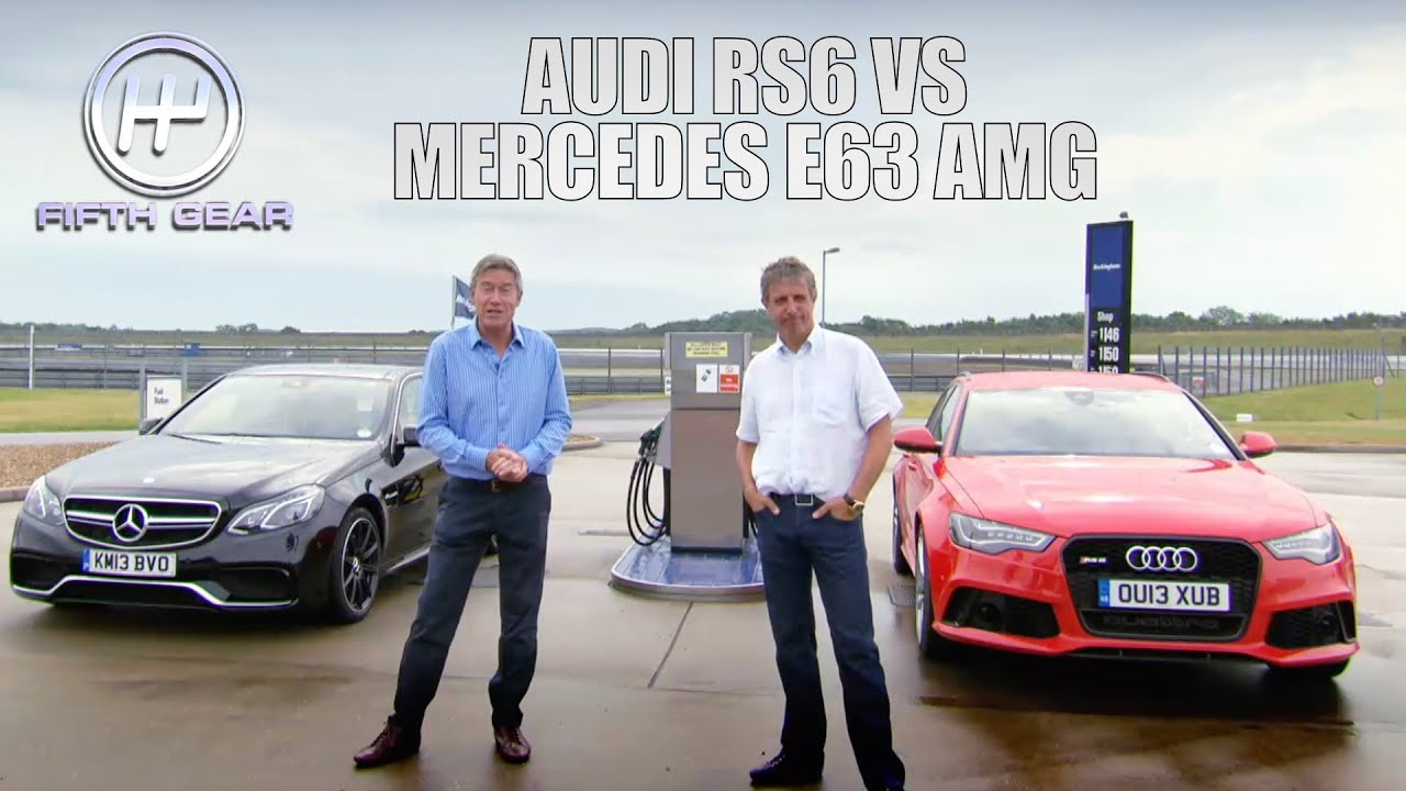 Download Audi VS Mercedes: The FULL Challenge | Fifth Gear Classic
