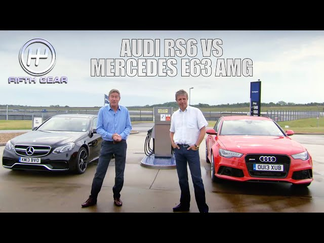 Audi VS Mercedes: The FULL Challenge | Fifth Gear Classic