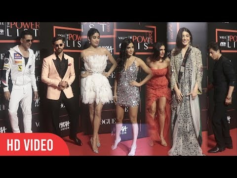 Hrithik, Akshay, Shahrukh, Katrina, Anushka & Whole Bollywood at Nykaa Fashion and Vogue India 2019