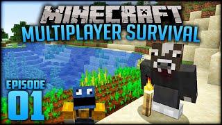 WE BACK | Minecraft: Multiplayer Survival (1.14) - Episode 1 (w/moomoomage)