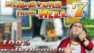 Neighbours From Hell 7 - ALL Episodes [100% walkthrough]