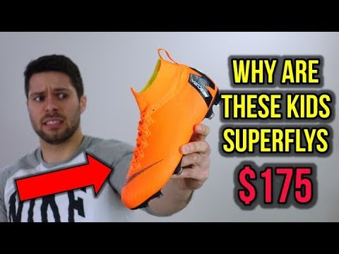 new style 4b3df decb2 ARE $175 KIDS CLEATS WORTH IT? - JR Nike Mercurial Superfly 6 Elite - Review