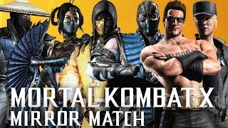 MORTAL KOMBAT MIRROR MATCH !!!