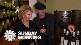 Sting and Trudie Styler, at home in Tuscany