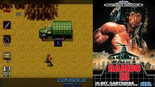 Rambo 3 (Sega Mega Drive) - прохождение игры