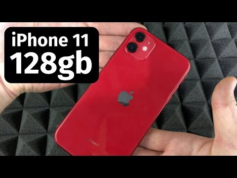 iPhone 11 - 128gb (product) Red - Unboxing