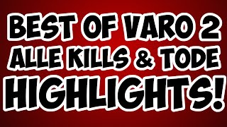 Minecraft VARO 2 Highlights - Alle Kills & Tode + Rangliste